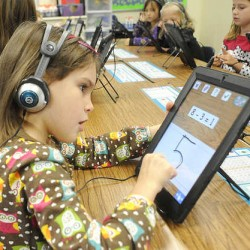 Teachers, students embrace iPads at Foxcroft Academy