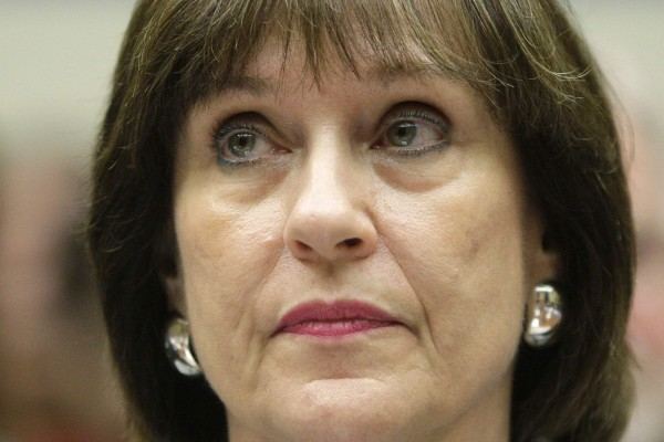 U.S. Internal Revenue Service Director of Exempt Organizations Lois Lerner sits for testimony before a House Oversight and Government Reform Committee hearing on targeting of political groups seeking tax-exempt status from by the IRS, on Capitol Hill in Washington, May 22, 2013.