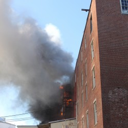 Skowhegan apartment building damaged by fire