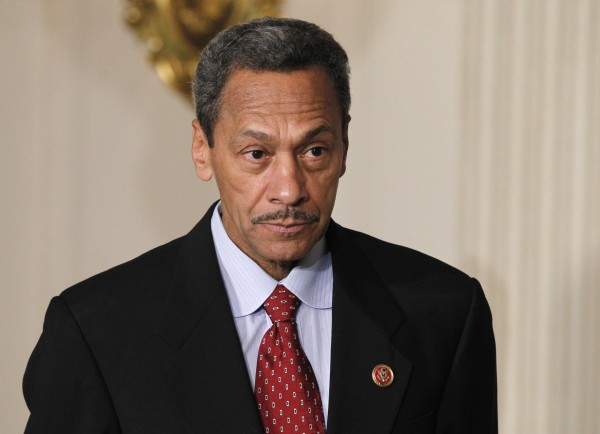 Democratic Representative Mel Watt looks on as U.S. President Barack Obama announces him as his nominee for director of the Federal Housing Finance Agency, at the State Dining Room of the White House in Washington, May 1, 2013.