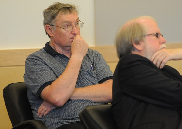 Bruce Fowle, 62, (left) of Bangor pleaded guilty on two counts of theft. Fowle allegedly stole $100,000 over a period of several years from the fireworks fund and about $40,000 from the breakfast group between sometime in 2000 and July 31, 2012.