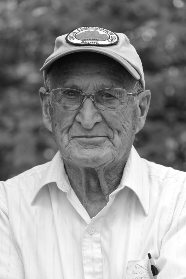 Ralph Bonville, 94, of Freeport, served in the Civilian Conservation Corps from 1936 to 1937.