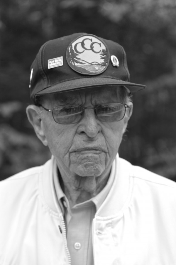 John McLeod, 89, of Portland, served in the Civilian Conservation Corps from 1940 to 1942 in Camden and Bar Harbor.