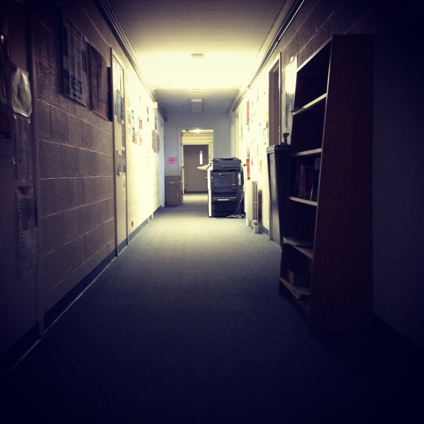 May 8: Make a photo of a hallway or passage and post it.