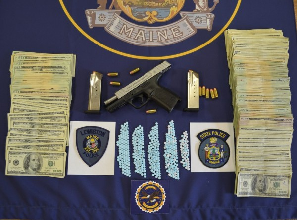 Evidence found during Lewiston drug bust