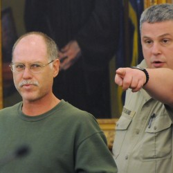 Emotional David Coon pleads guilty to manslaughter in death of girlfriend, judge continues hearing