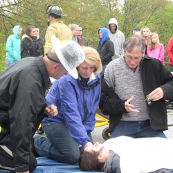 Portland crash simulation more powerful for students in aftermath of real teen arrest
