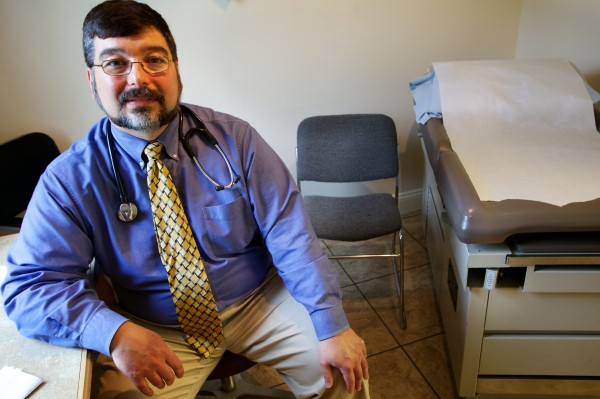 Dr. Michael Ciampi took his practice back from Mercy health system after finding that patient care was too impersonal. He also stopped accepting insurance and Medicaid as way to deal more directly with his patients.