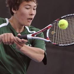 High school team tennis state championship matches moved indoors Saturday