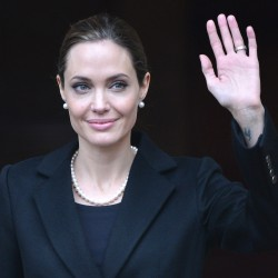 Angelina Jolie makes first public appearance after mastectomy