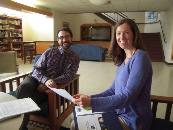 Alumni Luke Shorty and Catherine Reilly give new meaning to the identity of the Maine School of Science and Mathematics in Limestone as a magnet school.