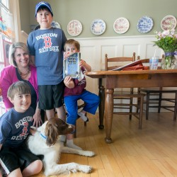 Bangor family hosts impressive dinner guests