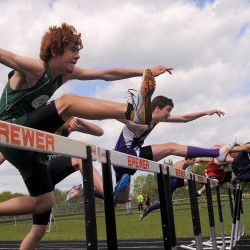 Bangor girls, Scarborough boys win 'A' state track titles; Brewer's Jackson sets two records