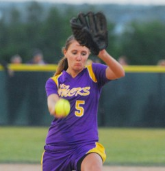 Bucksport High School pitcher Cassidy Adams