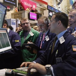 Wall Street posts worst day since Nov. 7 on gold's drop, Boston blasts