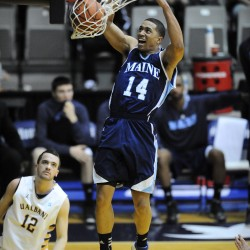 Kansas State basketball team announces signing of UMaine transfer Justin Edwards