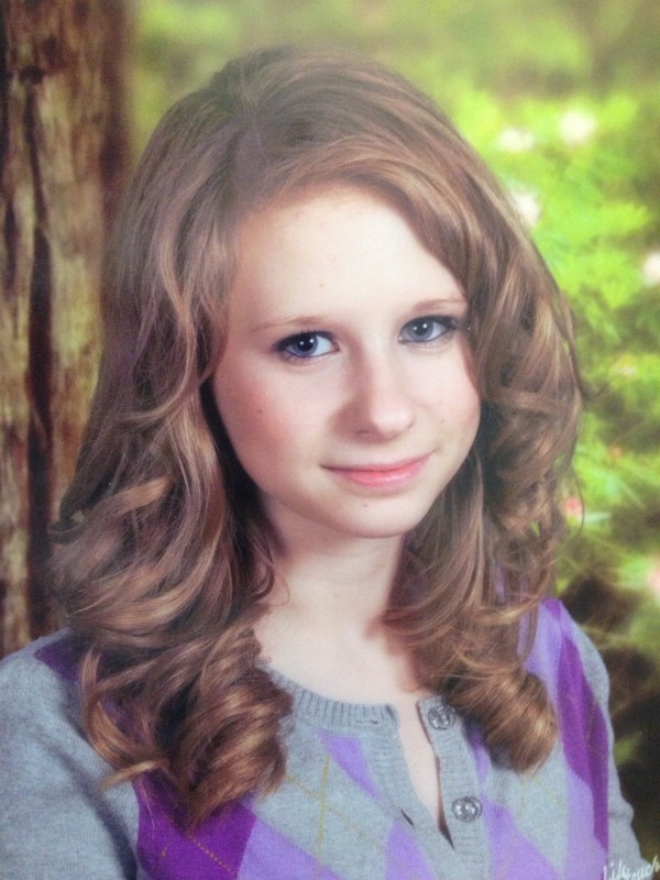 Nichole Cable, 15, of Glenburn