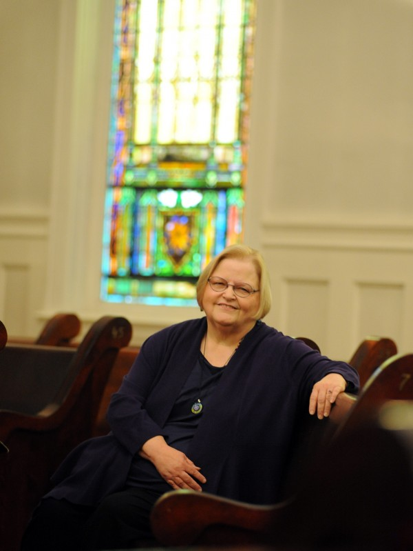 Rev. Becky Gunn, the minister of the Unitarian Universalist Society of Bangor, and the congregation will celebrate a centennial rededication on June 2, 2013.