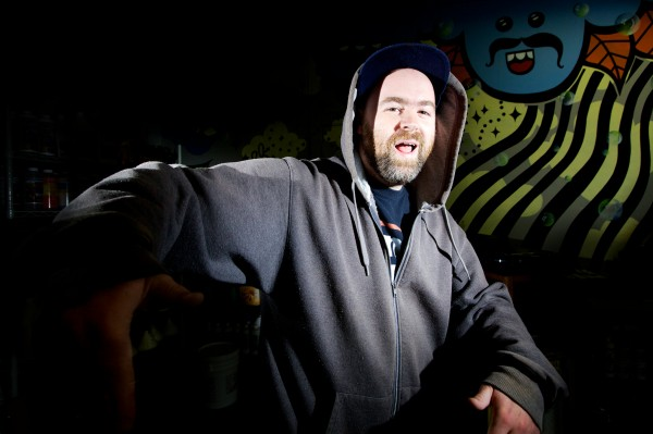 Local hip hop artist Darren Morse, who goes by the name Misl, performs a bit of free- form rhyme in preparation for Portland's first Hip Hop Summit on June 8 in the East Bayside neighborhood. The free, all-ages event will run 11 a.m. to 6 p.m. and include a b-boy dance contest, live graffiti art and hip hop music.
