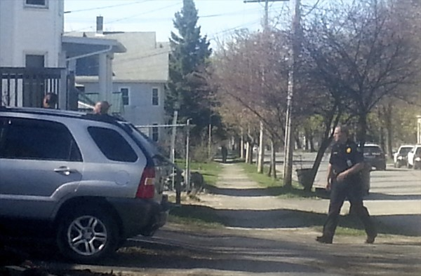 A standoff took place at 80 Elm Street Friday afternoon at about 3:30 p.m. and lasted for about a half hour until the suspect was apprehended.