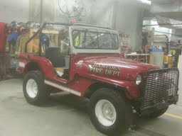 This 1955 Willys Jeep is for sale to the highest bidder. Now retired, the vintage military vehicle served as the town of Hampden's brush fire response vehicle since the 1970s. Town officials recently decided to sell it by sealed bid.