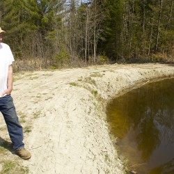 A sad fish tale: Clinton farmer faces hardship as state levies fine for his homemade trout pond