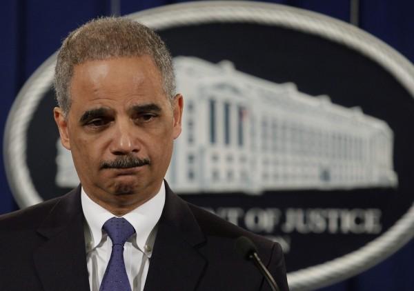 U.S. Attorney General Eric Holder in February.
