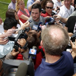 Welker, Patriots open training camp