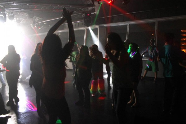 People dance at Tantrum, a nightclub in Bangor. Under state statute, clubs, bars, restaurants, event centers and other venues where dancing happens, whether in a large crowd or small group, are required to pay $117 to apply for a dance license from the state.
