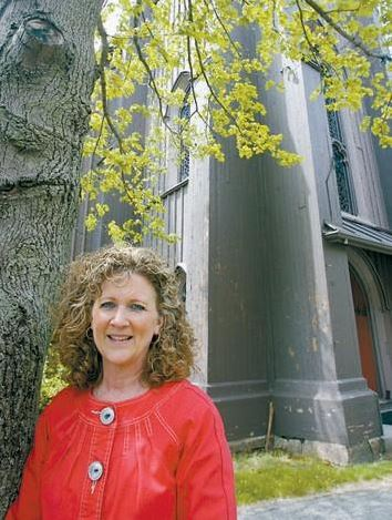 Barbara Bowers, seen in this 2009 file photo from The Times Record, resigned as executive director of the Chocolate Church Arts Center.