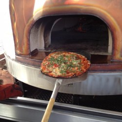 Union company puts wood-fired pizza oven on wheels
