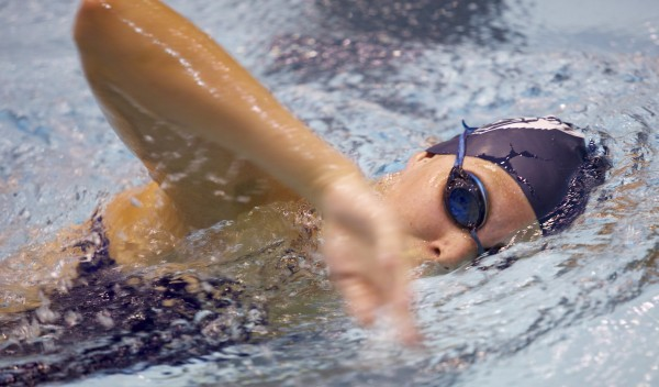 Nicole Langlois had a double mastectomy in 2011 after finding a lump in her breast. Langlois will be graduating from University of Maine, Orono with a degree in kinesiology. Langlois is also a swimmer and continued to swim throughout her treatment.