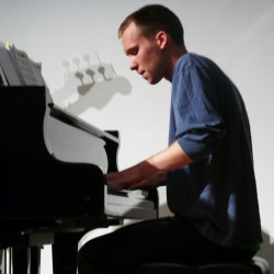 Nathaniel Hilliard performs at Gates Community Center on June 7 with members of the Portland Jazz Quartet