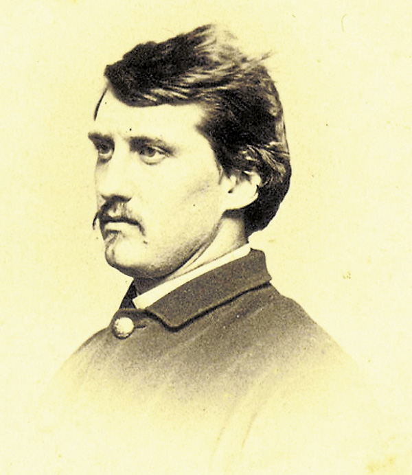 After his appointment as captain of the 5th Maine Battery, Pennsylvanian George Leppien traveled to Augusta in late fall 1861 to help recruit men for the new unit. He led the battery into several battles before being ordered to deploy the 5th Maine's six cannons near the Chancellor House on Sunday, May 3, 1863. Outnumbered perhaps 10-to-1 by Confederate cannons and attacked by enemy infantry, the 5th Maine Battery suffered terrible casualties. Leppien was seriously wounded; he died on May 24.