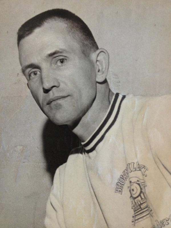 Carroll Conley Sr., former Brownville Junction Railroaders coach