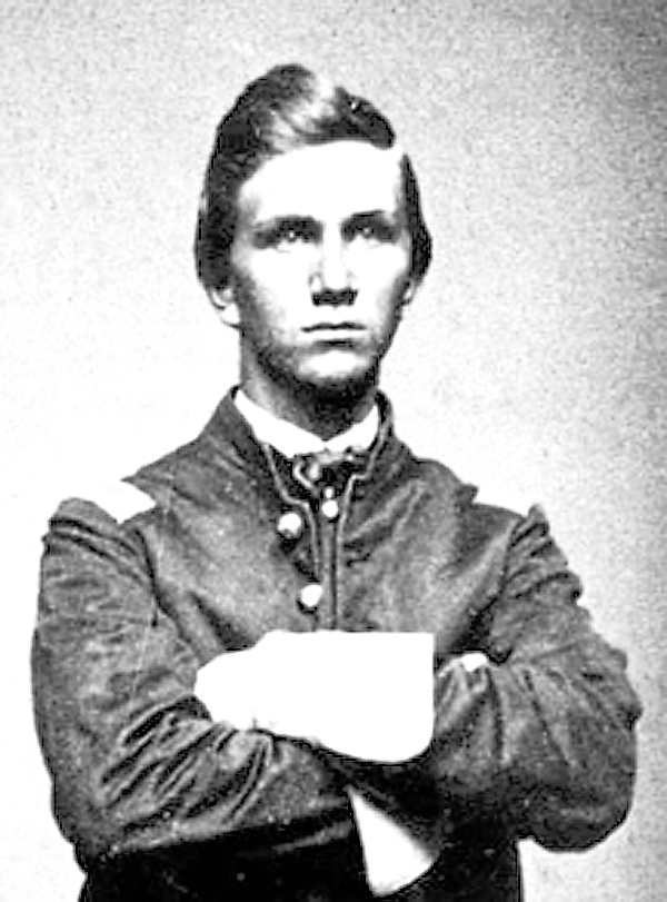 A student at Foxcroft Academy when the Civil War started, Charles Clark joined the 6th Maine Infantry Regiment and went to Virginia in 1861. A talented young man, he had been promoted to first lieutenant and appointed the regiment's adjutant by May 3, 1863. On that Sunday, as part of the Chancellorsville campaign, the 6th Maine charged Confederate infantry and artillery defending the Stone Wall and Marye's Heights west of Fredericksburg. In a wild charge with other Union regiments, the 6th Maine captured both targets. Clark later won the Medal of Honor for heroism during the retreat from Fredericksburg.