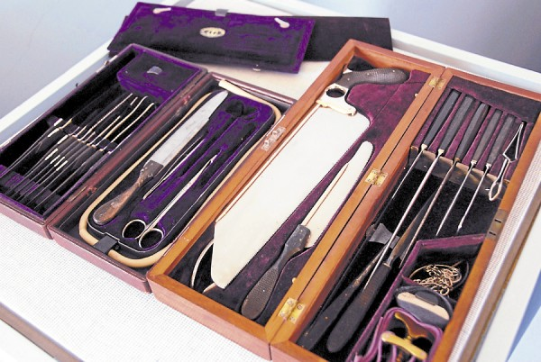 A new exhibit at the Bangor Museum and History Center will display this Civil War surgeon's kit on loan from Detective Richard Harburger of the Penobscot County Sheriff's Department. Titled &quotBullets and Bandages: The Passions and Price of the Civil War,&quot the outstanding exhibit will open on Saturday, May 4, 2013 and will be open to the public from 10 a.m.-5 p.m., Tuesday-Saturday, until Oct. 12.