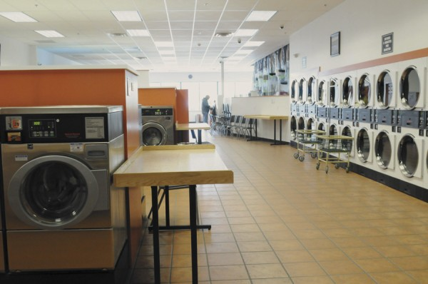 A larger, more spacious laundromat floor and creature comforts are part of the Gold Star Cleaners location in the Third and Union Street Plaza in Bangor.