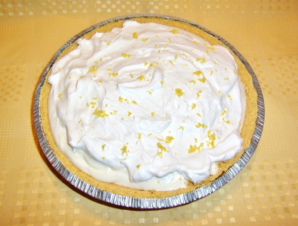 Stupid lemon icebox pie is so easy to make, it's stupid. The pie goes together quickly and is a refreshing, tangy treat for summer.