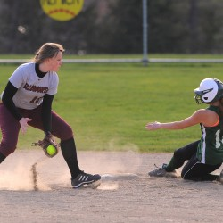 Nokomis, Old Town, Deer Isle-Stonington, Penobscot Valley prep for softball finals in Brewer on Wednesday