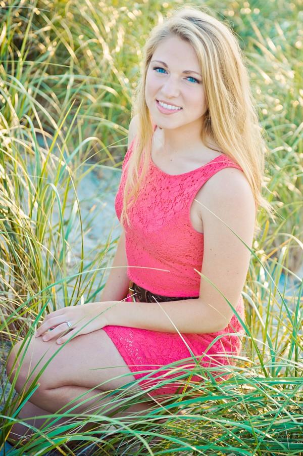 Rebekah Holmes, valedictorian
