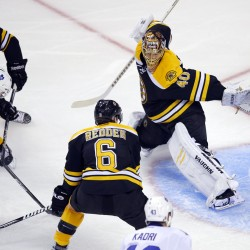 Bruins rally by Leafs, win series