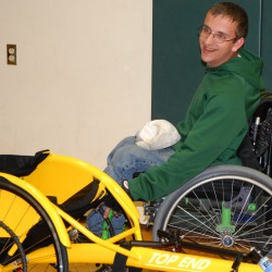 New wheelchair helps Fort Kent senior break through at state track championships