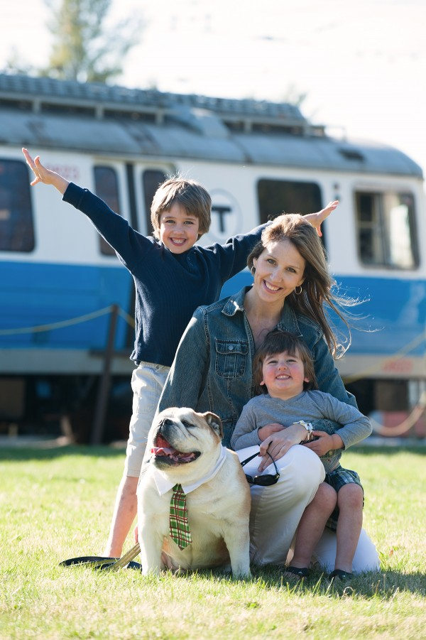 Museum Business Member Lana Wescott, owner of Lana Wescott Events, plans to visit Seashore Trolley Museum on Dog Day.  Photo  by Business Member CA Smith Photography