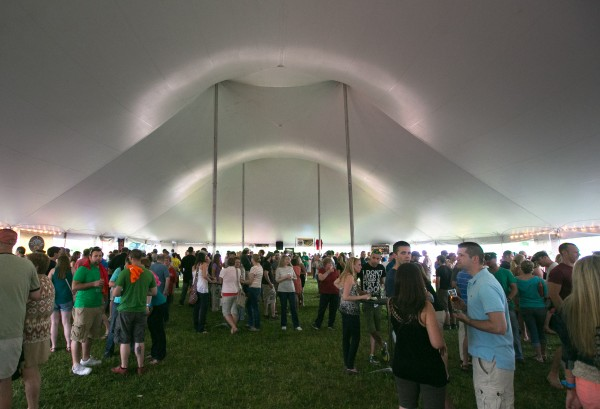 Brewers and beer enthusiasts from across the state gathered to celebrate and taste the craft beers of Maine at the Bangor Beer Festival on Saturday, June 22.