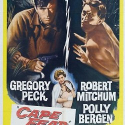 River City Cinema presents CAPE FEAR,  Friday, July 29th in Pickering Square, Downtown Bangor. FREE! Movie starts after sunset (around 8:30), bring your own seating.
