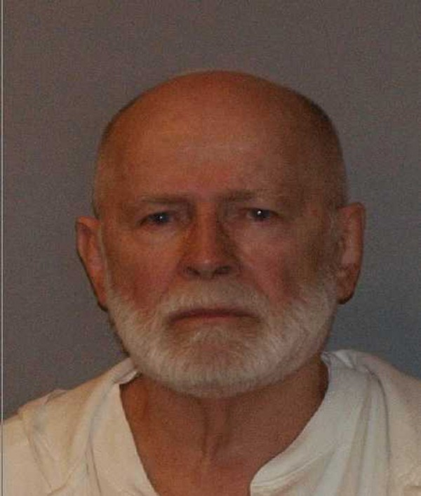 Former mob boss and fugitive James &quotWhitey&quot Bulger is seen in a booking mug photo released to Reuters on August 1, 2011. Accused mob boss James &quotWhitey&quot Bulger, who spent 16 years on the run, much of it on the FBI's &quotTen Most Wanted&quot list, goes on trial next week for committing or ordering 19 murders in the 1970s and 1980s.