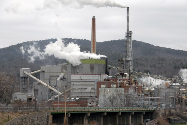 The Newpage paper mill in Rumford