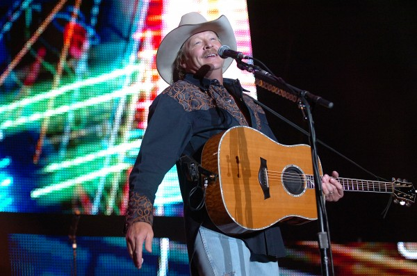Alan Jackson greets the crowd of more than 8,000 fans at the start of his show on Friday, Sept. 10, 2010, which was part of the Bangor Waterfront Concert Series.