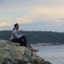 Saudi teen meets Maine: clouds, camping and pink camels